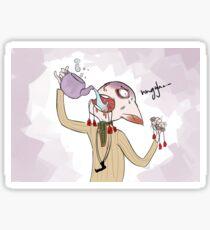 Tea or Morrigan?... Sticker