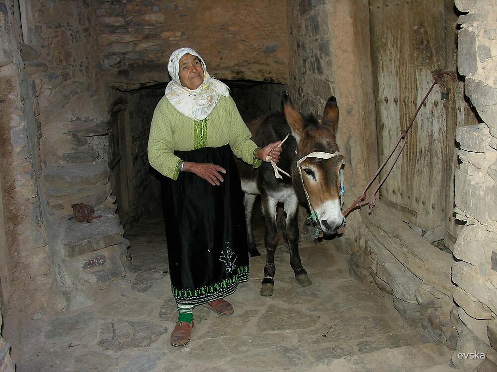 Moroccan women by evska