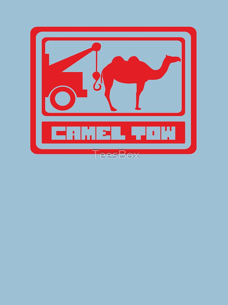 Camel Tow by TeesBox
