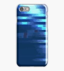 Glitch - DarkBlue iPhone Case/Skin
