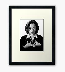 The X-Signs Framed Print