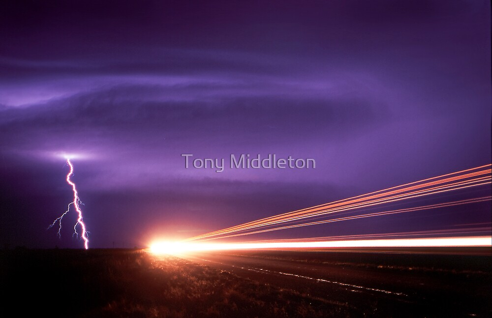 out of danger ! by Tony Middleton