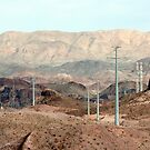 Powerlines of Hoover Dam by Tausha