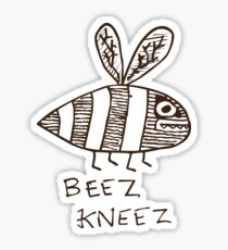 The Beez Kneez Sticker