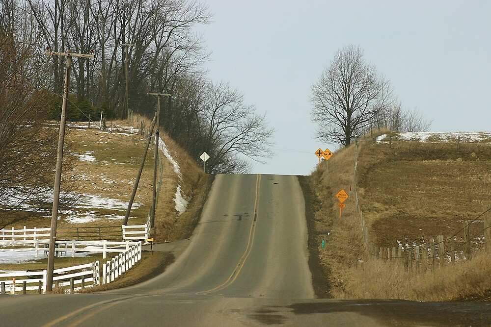 Just Beyond the Hills - Amish Country, Holmes County, Ohio by Jeremy Davis