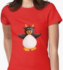 Penguin Minotaur Womens Fitted T-Shirt