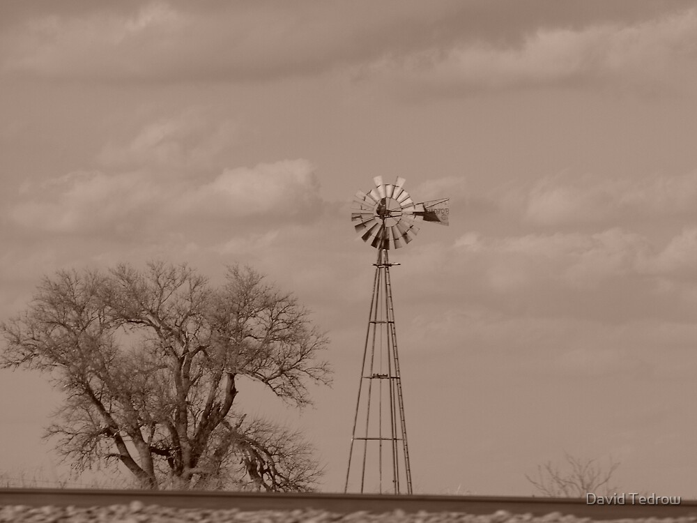 Old Windmill by David Tedrow