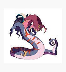 Pokemon Fusion #5 Photographic Print