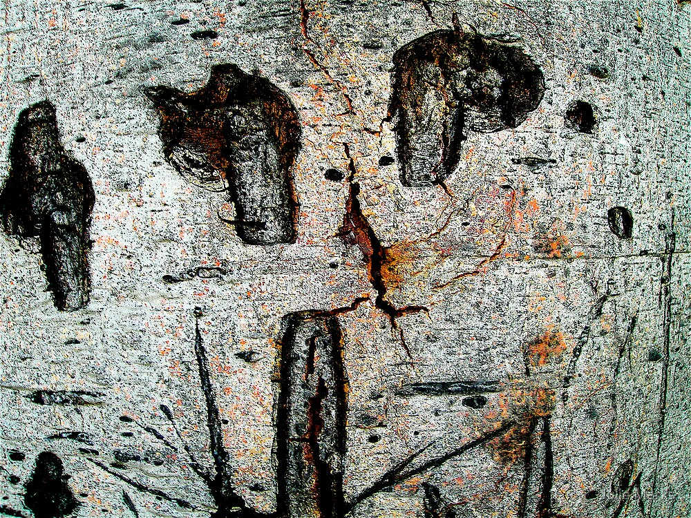 Cave Painting by Julie Marks