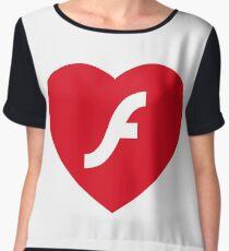 Flash Love Women's Chiffon Top