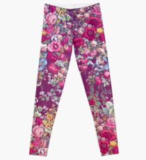 & quot; Bouquety & quot; Leggings