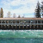 Lake Tahoe Dam by doubleheader