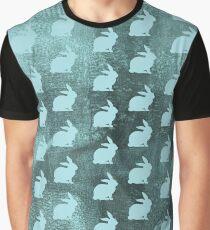 Rabbit Silhouette Graphic T-Shirt