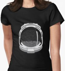 Astronot Womens Fitted T-Shirt