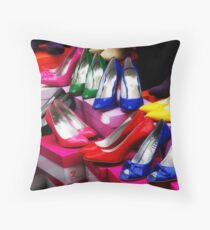 For Ladies Only Throw Pillow