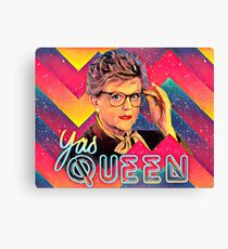 Yas to the Queen Jessica Fletcher Canvas Print