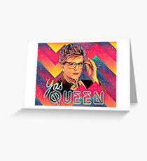 Yas to the Queen Jessica Fletcher Greeting Card