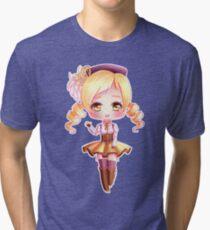 Mami Chibi  Tri-blend T-Shirt