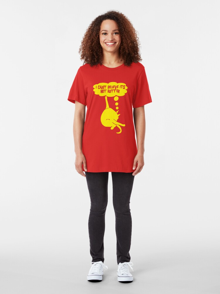 Alternate view of I Can't Believe It's Not Butter Slim Fit T-Shirt