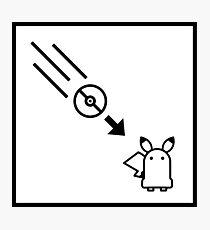 Portal Pokemon Mashup Photographic Print
