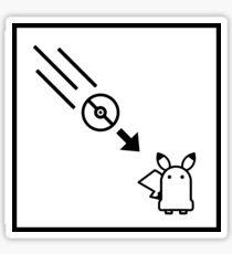 Portal Pokemon Mashup Sticker