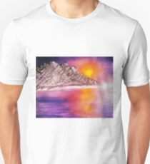 Raw Sunset Unisex T-Shirt