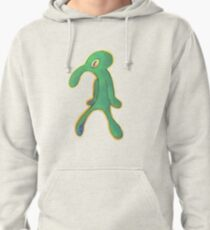 High Res Bold & Brash Repaint Silhouette Pullover Hoodie