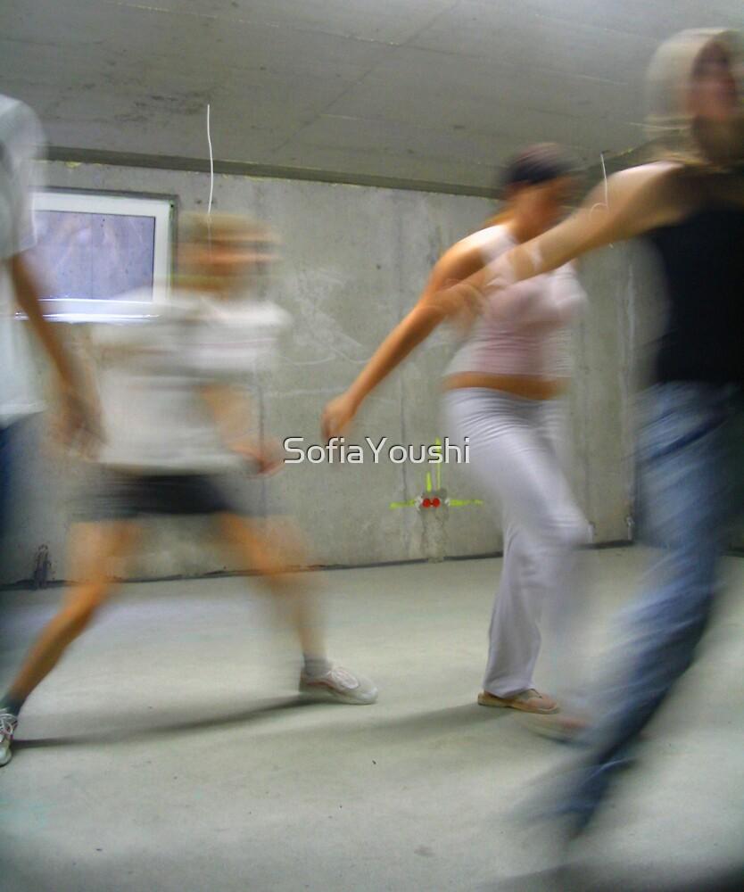 DANCE PRACTISE BASEMENT  by SofiaYoushi