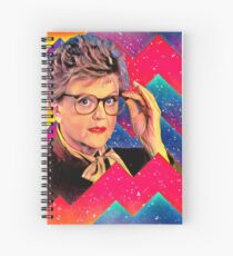 Yas to the Queen Jessica Fletcher Spiral Notebook
