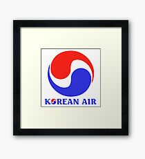 Korean Air Framed Print