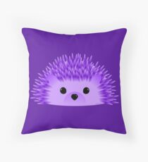 Redgy, the Hedgehog Throw Pillow