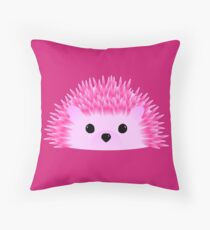 Hedgy Hedgehog Throw Pillow