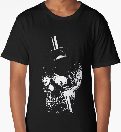 The Skull of Phineas Gage (White) Long T-Shirt