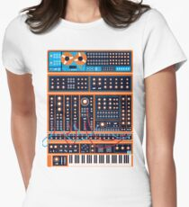 Synth Women's Fitted T-Shirt