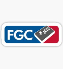 Fighting Game Community Member Sticker