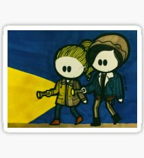 Bughead Sleuthing Sleuthsters Sticker