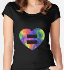 Love = Love Women's Fitted Scoop T-Shirt