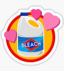 I Heart Bleach Sticker