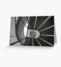 105 metres above, Cape Bruny Lighthouse. Greeting Card