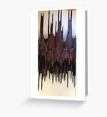 Gates of Hell Greeting Card