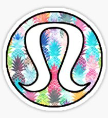 Lululemon Pineapple Sticker