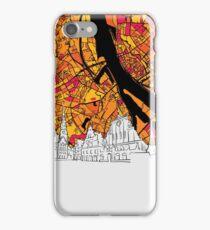 Riga Colorful Map Artprint iPhone Case/Skin