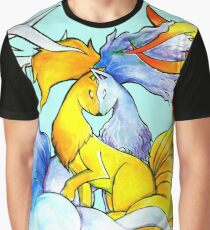 Nine Tails Times Two Graphic T-Shirt