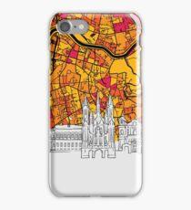 Vilnius Skyline Map iPhone Case/Skin