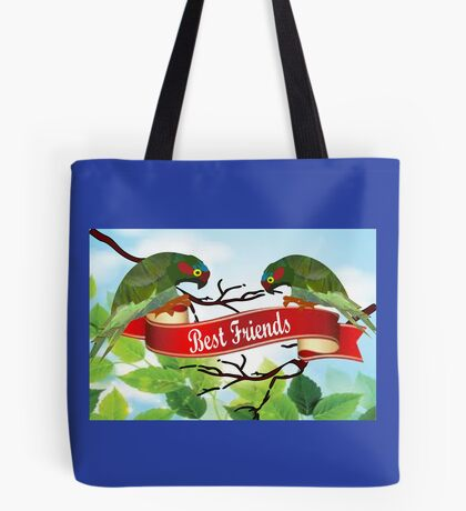 Best Friends (2521 views) Tote Bag