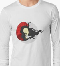 Caught in the wind Long Sleeve T-Shirt