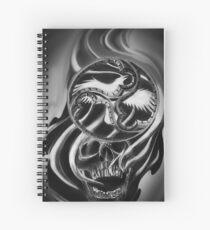 Gothic skull  Spiral Notebook