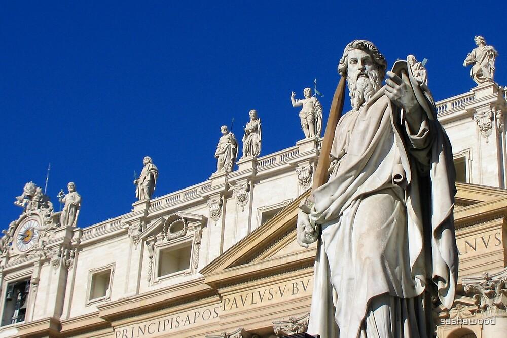St Peter's Rome by sashawood
