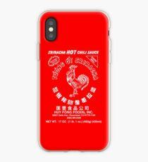 Sriracha Hot Chili Sauce iPhone Case