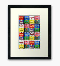 Campbells' Tomato Soup Print Framed Print